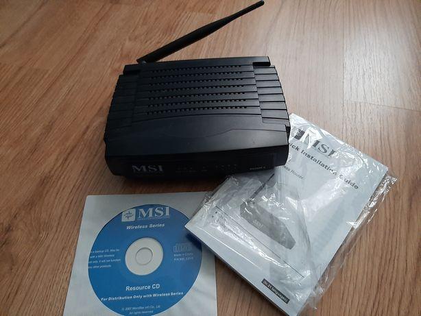Router wireless lan msi