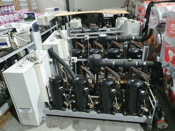 Херметични централи с фреон R404А,15бр по 3000лв за бр