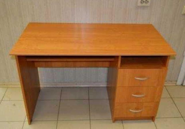 Стол офисный ольха. Письменный 1200×600 выс 75