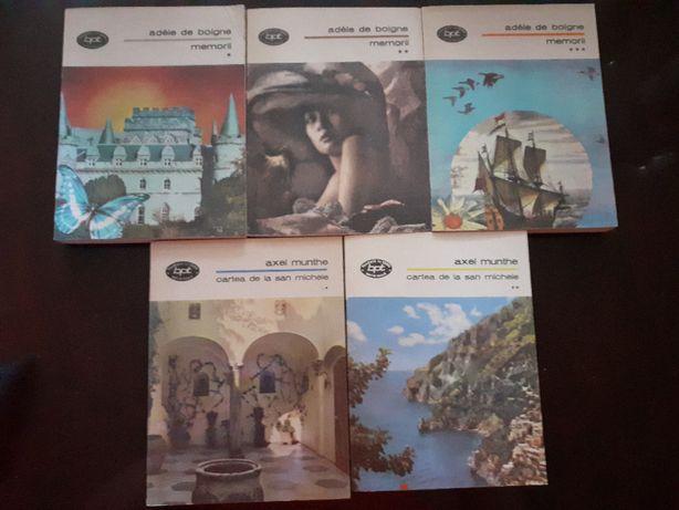 Carti din colectia Biblioteca pentru Toti, autori romani si straini