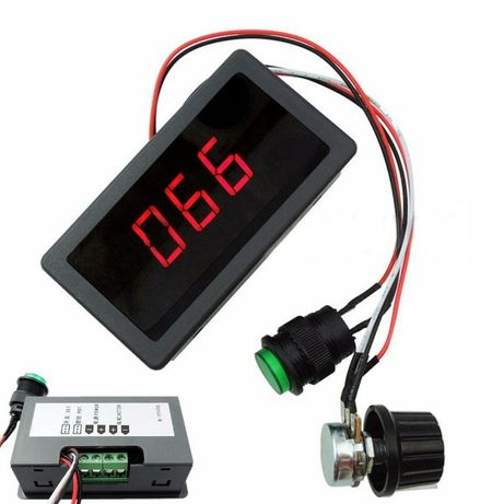 PWM 6-30V 8A display LC. Variator regulator de turatie tensiune pute