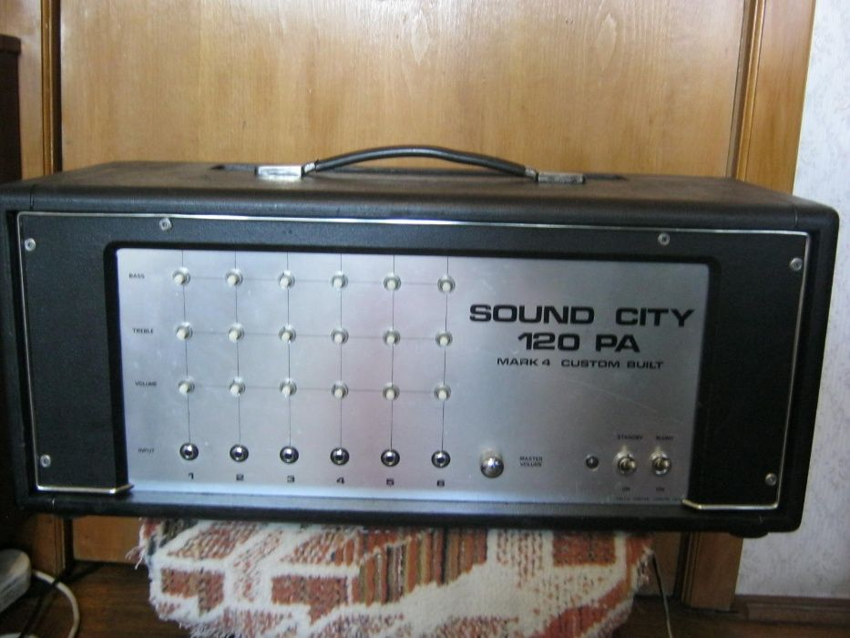 amplificator chitara SOUND CITY 120 PA Braila - imagine 1