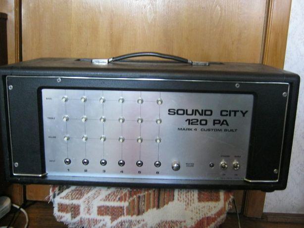 amplificator chitara SOUND CITY 120 PA