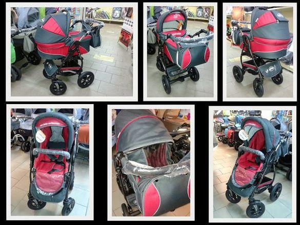Бебешка количка Baby Merc Q7 Delux 2в1