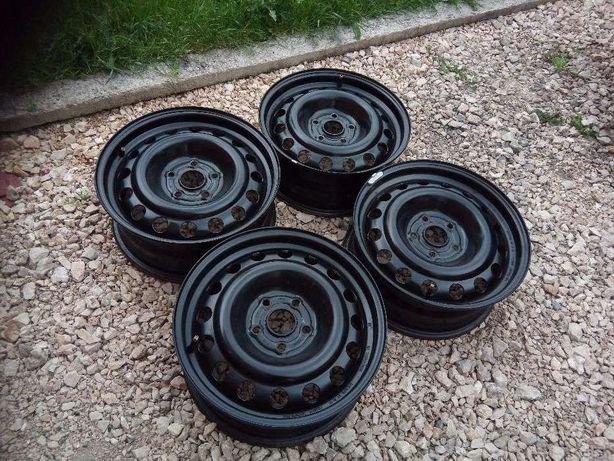 Set 4 JANTE TABLA R15 ORIGINALE VW cu prindere 5x112.