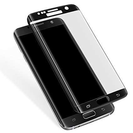 Стъклен протектор за Samsung Galaxy S6 Edge G925 черен FullFace версия