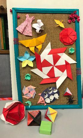 Рамка с декорация от оригами