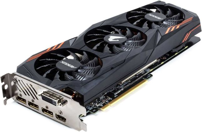 Видеокарта GeForce Aorus 1070ti