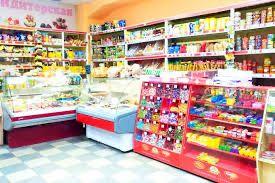 Ареда продуктового магазина