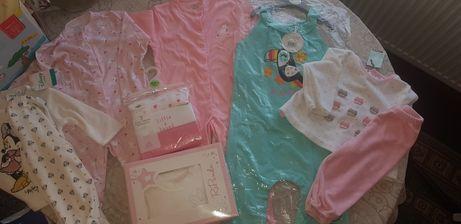 Чисто нови бебешки дрешки и аксесоари-от 0м до 12м