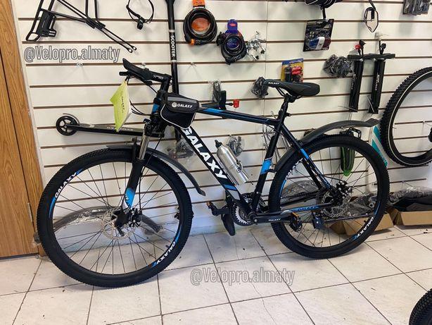 Велосипед Велик Оригинал Galaxy Качественный Алюминиевый 21 рама 19 ра