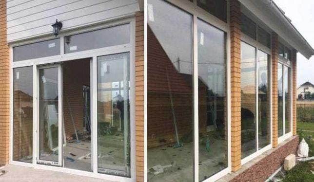 Пластиковые окна двери витражи лоджии доставка бесплатно