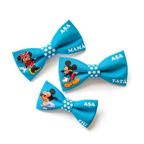 Set papion Mama, Tata si Fiu Mickey Mouse