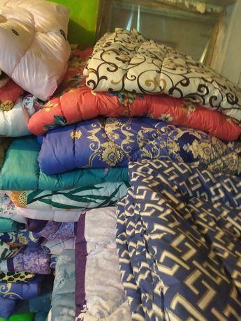 Продам одеяло силиконовые ткань сатин цветной,по оптовым ценам распрод