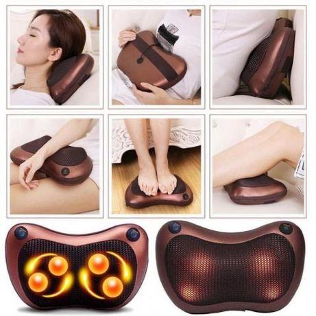 Портативная массажная подушка для шеи