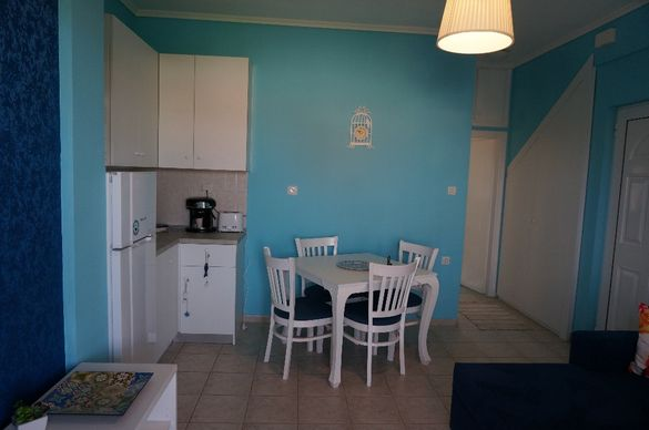 Апартамент Вилис, 70 м от плажа,1 спалня, Паралия Офринио, Гърция