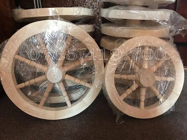 Roata din lemn - roti lemn pentru fantani