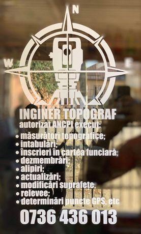 Servicii cadastru/ Inginer topograf autorizat