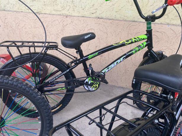 Велосипед БМХ Барс трюковой с пегами с багажником. Размер 20!Комплект!