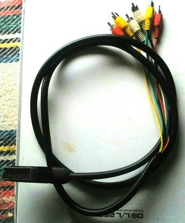 Пеодавам кабел свързващ за телевизор scart
