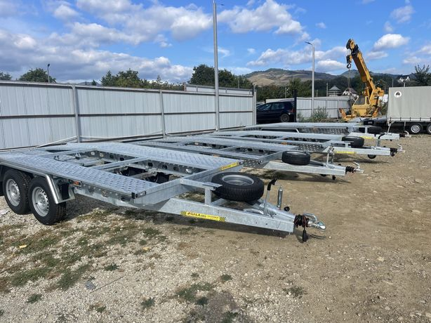 REMORCI / TRAILERE / Platforme auto noi 2021 4m /4,5 m /8,5 m
