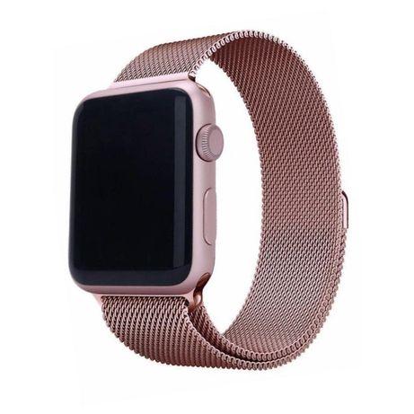 Ремешки Apple Watch смарт часа миланская петля 42-44mm ремешок браслет