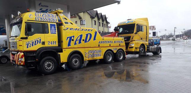 Tractari camioane autostrada A1 Deva -Sibiu