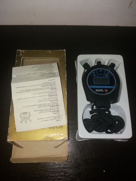 Cronometru vechi Agfa si cronometru Casio