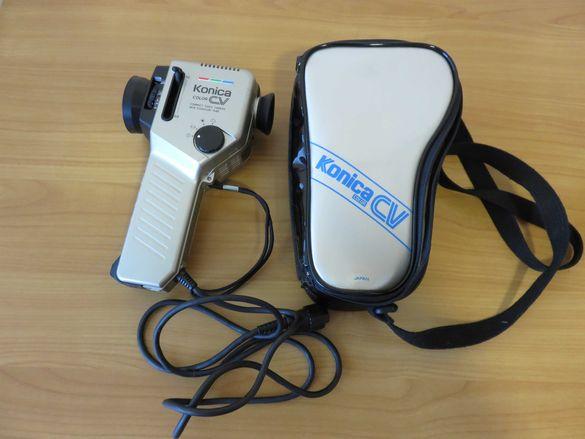 Konica CV Colour Compact CV-303 1984 видео камера с калъф