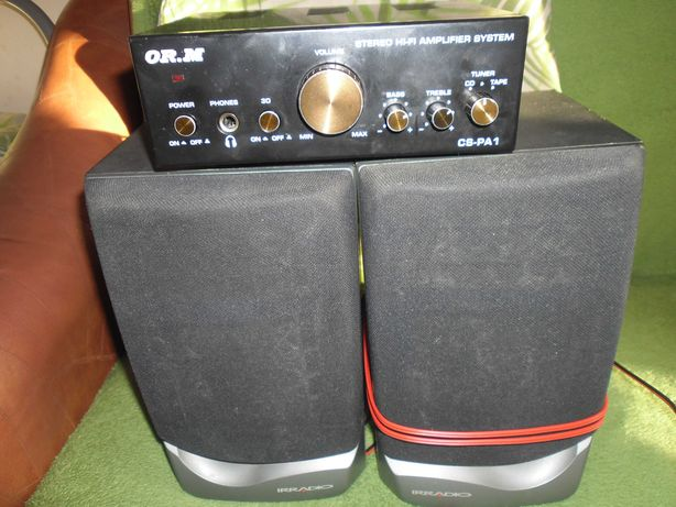 Amplificator si boxe 2 x 10 W pentru PC sau telefon