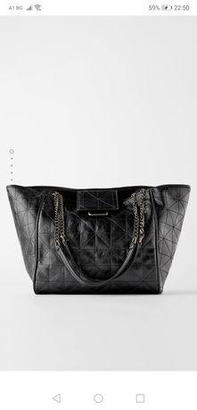 Чанта раница Зара