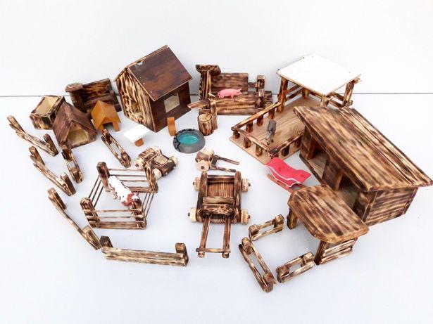 jucarii din lemn , handmade