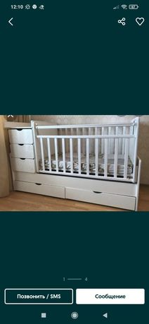 Срочно продается детская кроватка