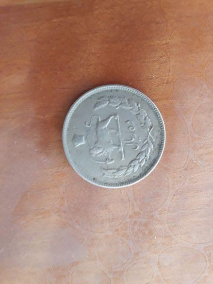 сребърна турска монета