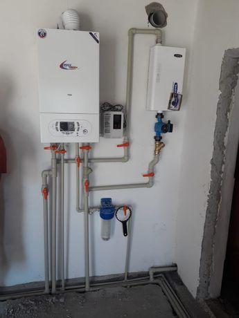 Отопление установка газовых котлов теплый пол автономный водопровод не