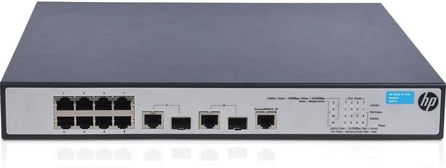 Switch HPE OfficeConnect 1910 8 PoE+, 2 SFP, Layer 3
