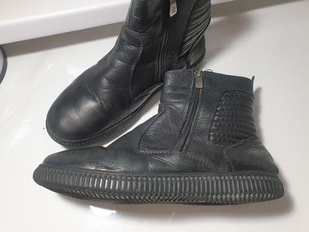 Зимние ботинки натуральная кожа и мех Tiflani
