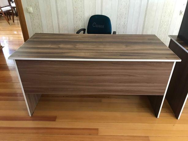 столы офисные коричневые