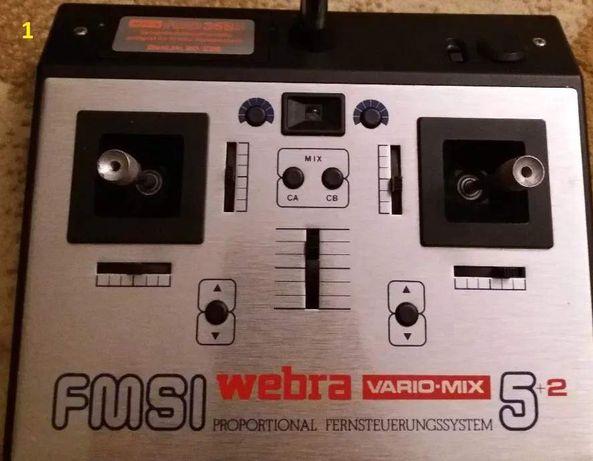 Radiocomanda FMSI Webra Vario-Mix 5+2