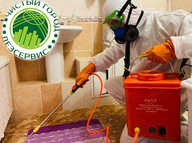 Дезинфекция, избавим от клопов, тараканов, муравьев