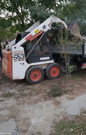 Miniexcavator Bobcat Miniincarcator Excavator Cilindru Freza Demolări