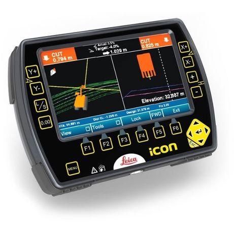 Leica GPS iCON Controller 3D Sistem Ghidare Utilaje