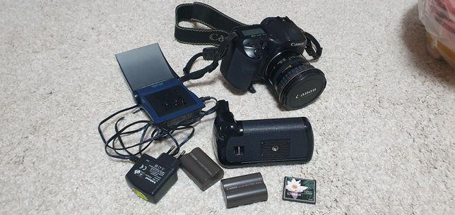 Aparat DSLR Foto Canon 10D+ obiectiv 20-35mm + grip + incarcator