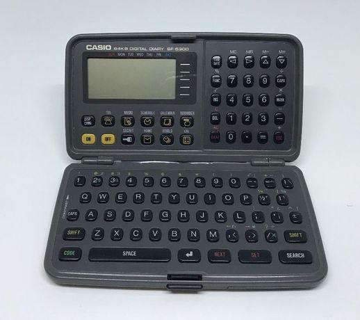 Agenda digitala Vintage Casio 64kb SF-5300 PDA Organizator