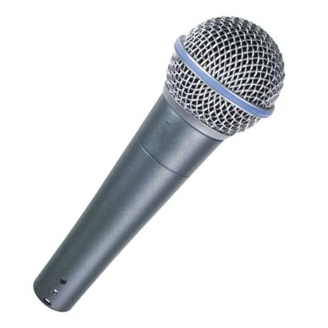 Microfon karaoke Shure Beta 58a, 50 Hz, impredanta 150 ohm