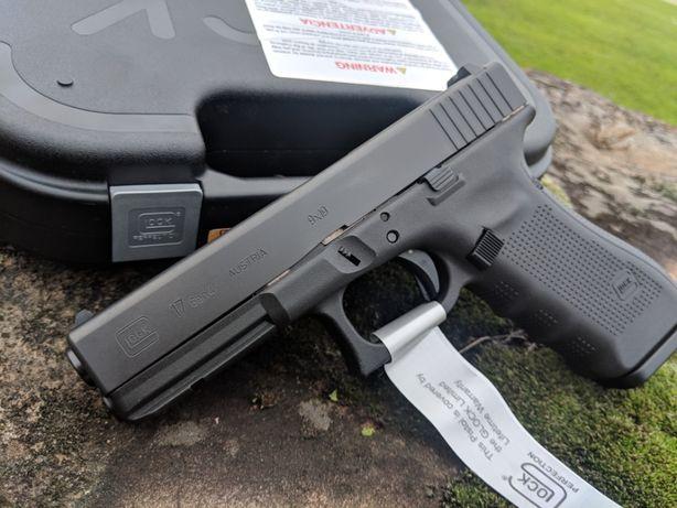 Pistol Airsoft Aer Comprimat cu Co2-Glock 17-Puternic 33% gaz pusca