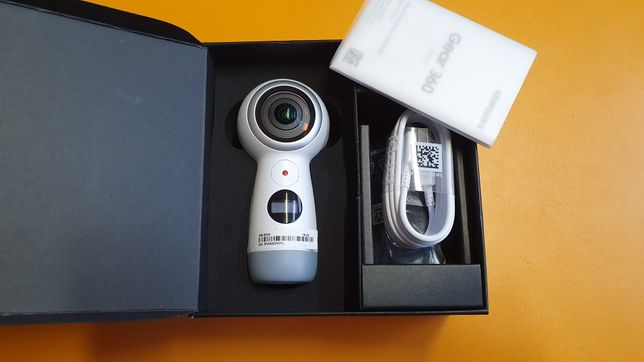 Camera Samsung Gear 360, R210, White, open box, cu garantie!