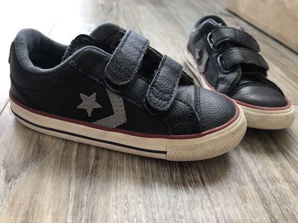 Кожени кецове Converse