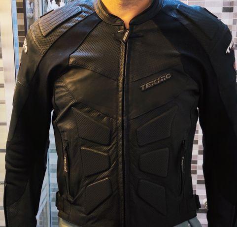 Jacheta piele motocicleta