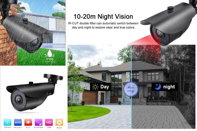 Camera de supraveghere 1080P NTSC, 3,6 mm infraroșu Noua ambalata!